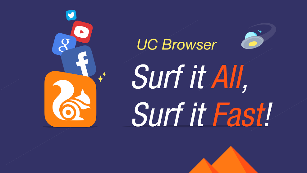 Why should you always opt for the official website to download uc browser?